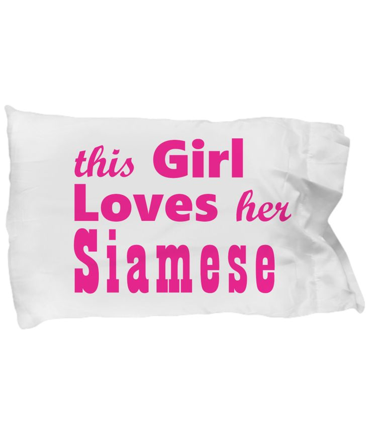 Siamese (Pink) - Pillow Case