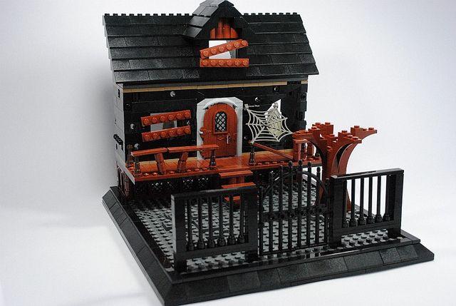 lego Haunted House   Flickr - Photo Sharing!