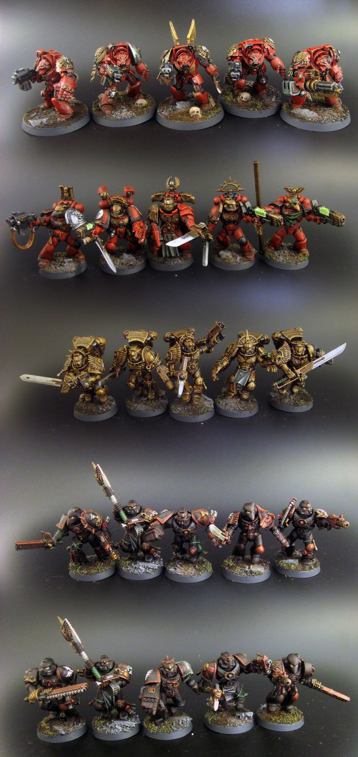 Blood Angels Army Project (pic carpet bombing) - Page 38