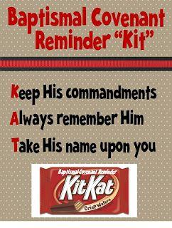 Strong Armor: Baptism Talk with Kit Kat Reminder