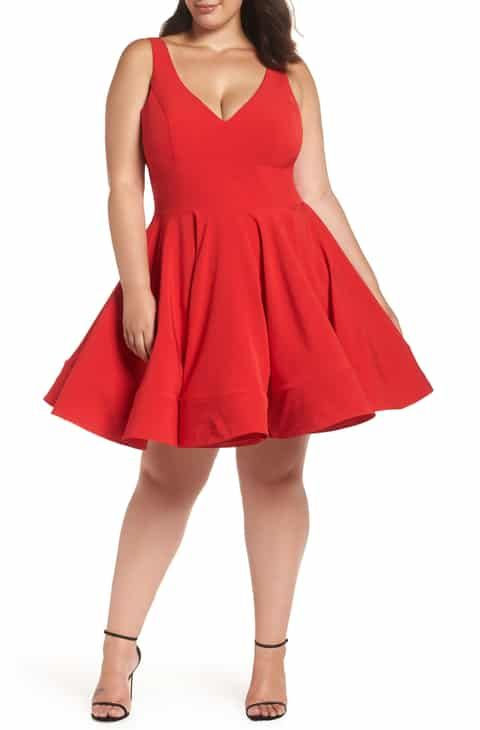 447ecdc31 Mac Duggal Fit & Flare Party Dress (Plus Size) 2019 in 2019 | Women ...