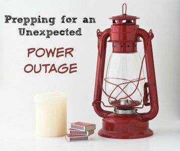 Prepping for An Unexpected Power Outage | Backdoor Survival