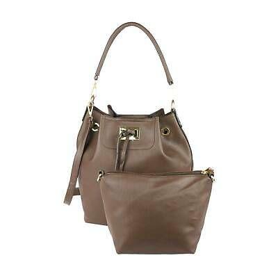 BUCKET TASCHE TASCHENSET 2in1 BEUTELTASCHE HANDTASCHE Schultertasche Shopper Bag – Italyshop24.com