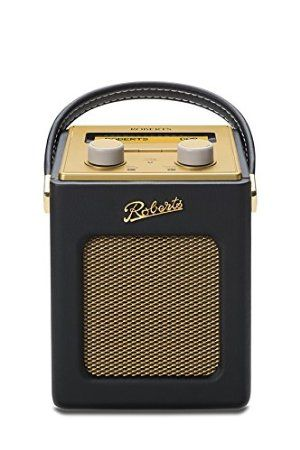 Roberts Radio Revival Mini DAB/DAB+/FM Digital Radio - Black