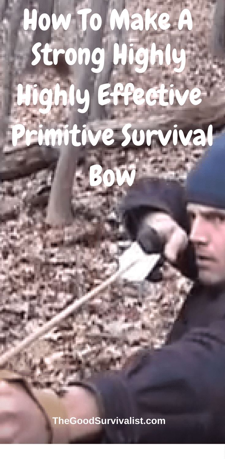 Survival Skills-Making a primitive bow is a 4 part series. We've included all 4 parts for you to reference. There are a lot of positive comments about this series. Some feel it's the best bow making techniques they've ever seen. Go ahead and watch the videos now.