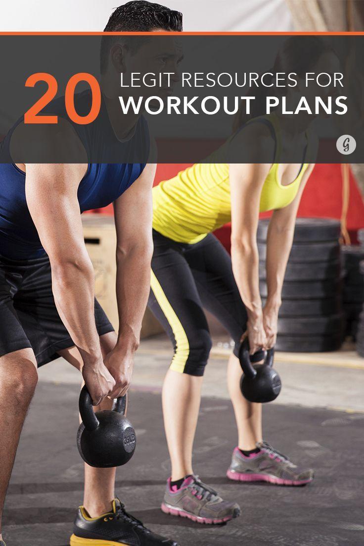 The 20 Best Resources for Legit Workout Plans #workout #program #training