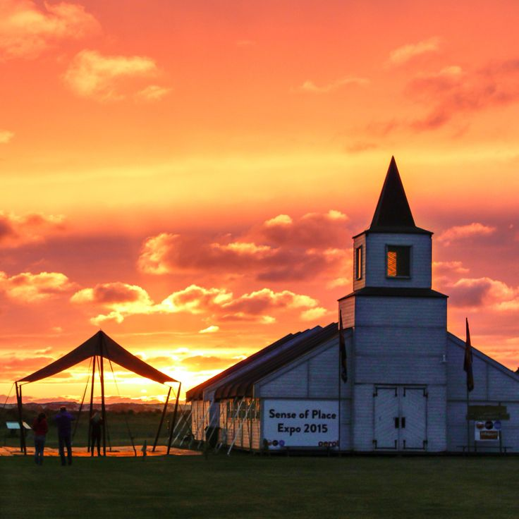 Uitzonderlijk mooie zonsondergang tijdens Oerol 2015 op Terschelling!