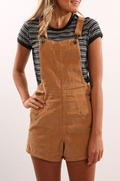 Barrymore Shorts Overalls Light Tan