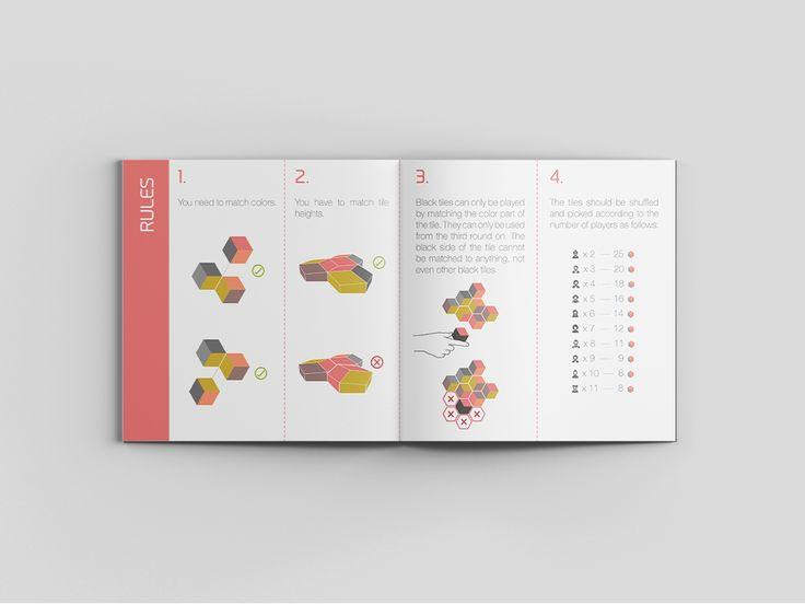 A fun and modern board game that's made for designers