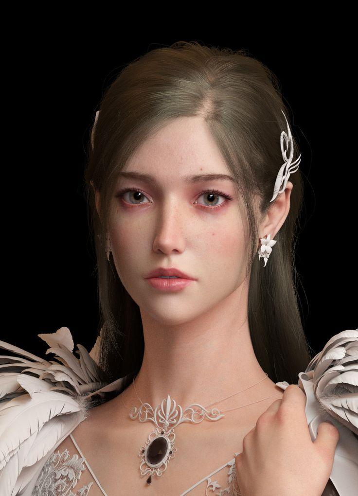 WIP-Princess DLL, Flaze Chen on ArtStation at https://www.artstation.com/artwork/RlBye