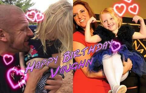 happy 5th birthday vaughn triple h amp stephanie daughter