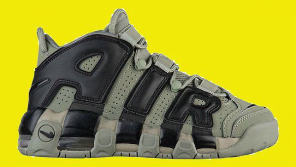 Nike Air More Uptempo Fast Shipping Nike Air More Uptempo Dark Stucco Black Basketball Shoe For Discount