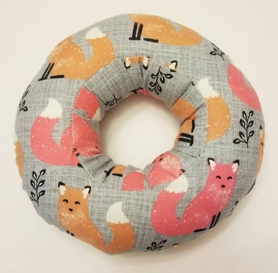 Piercing Pillow Ear Pillow Donut Pillow Ear Piercing Donut Pillow Pillows Bed Pillows