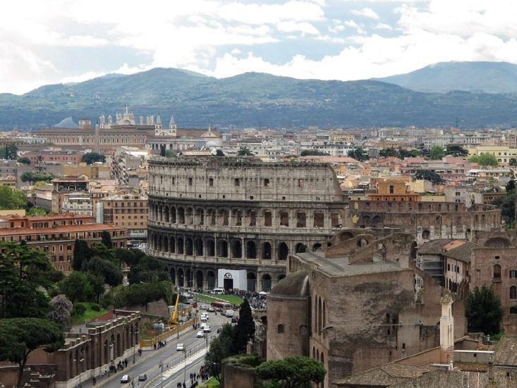 Töten als Show: das Kolosseum in Rom.