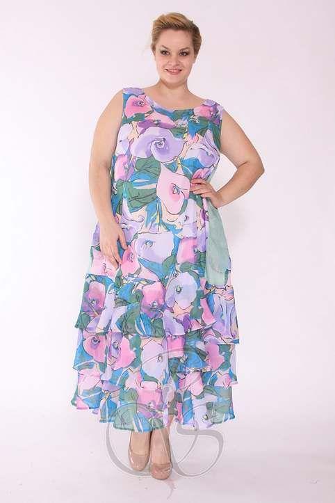 Платья для полных женщин в стиле Бохо-шик турецкого бренда Boho Style. Весна-лето 2015