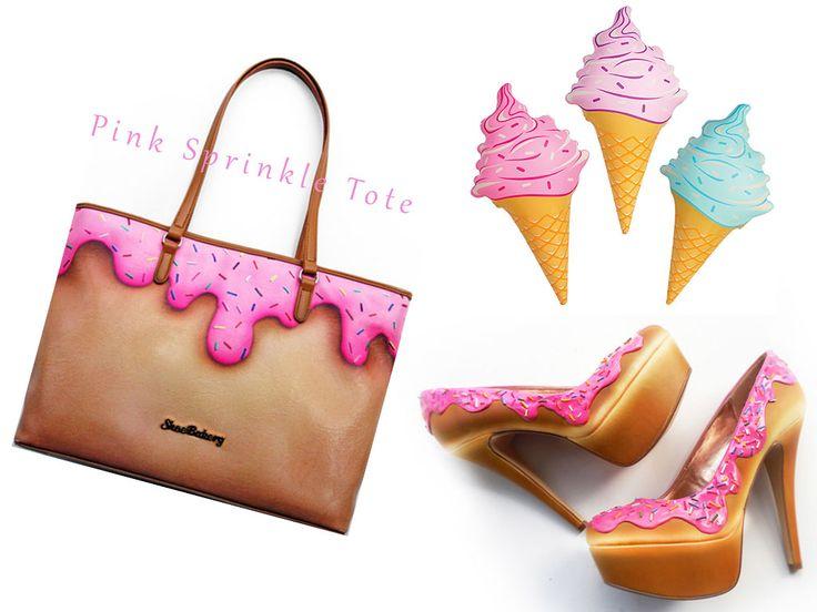 shoe bakery ice cream tote - Google Search