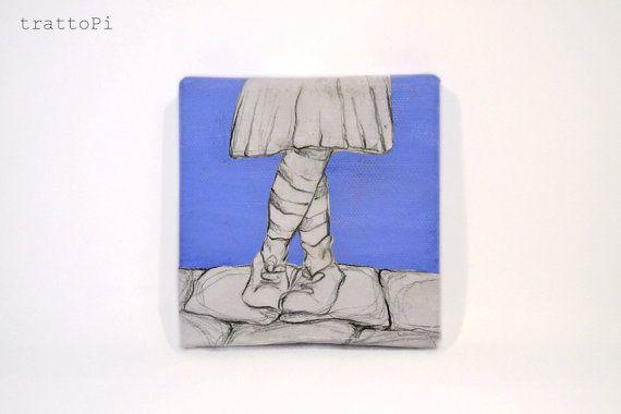 HOME   quadretto tela con i piedi di una bimba di trattoPi su Etsy