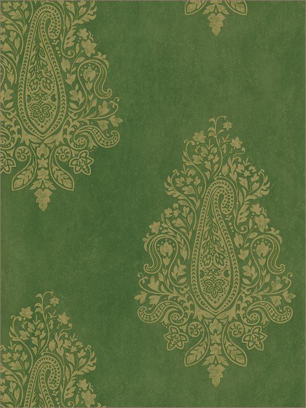 H Paisley Print Wallpaper Sample, At The Home Depot   Tablet