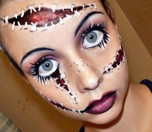 Отличный макияж для вечеринки на Хэллоуин (12 фото)