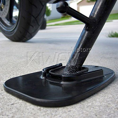 KiWAV Motorcycle kickstand pad support black x1 piece soft ground outdoor parking - http://www.caraccessoriesonlinemarket.com/kiwav-motorcycle-kickstand-pad-support-black-x1-piece-soft-ground-outdoor-parking/  #Black, #Ground, #Kickstand, #KiWAV, #Motorcycle, #Outdoor, #Parking, #Piece, #Soft, #Support #Accessories, #Motorcycle-Parts-Accessories