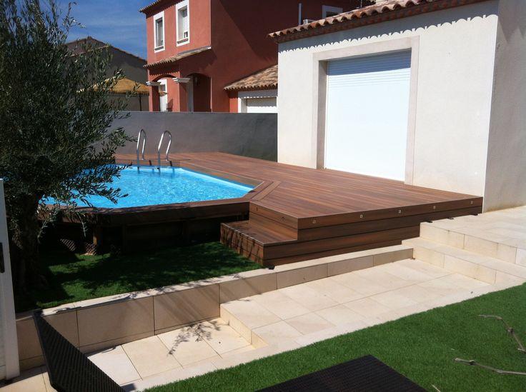 1000 ideas about terrasse composite on pinterest lame de terrasse composite lames de - Terrasse piscine bois composite nanterre ...