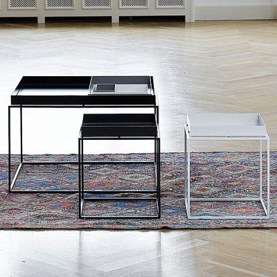 La Table Tray par HAY : originale et légère - 152 à 213 selon taille