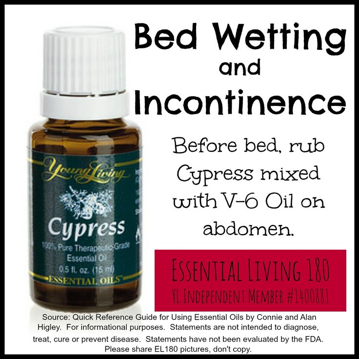 Young Living Cypress Bed Wetting and Incontinence http://www.us.ylscents.com/cindyland