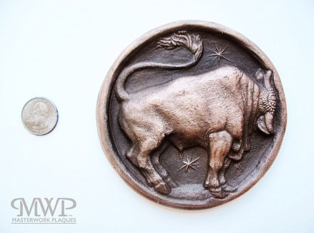 quarter for scale | contact us at masterworkplaques@gmail.com for all purchasing inquiries.