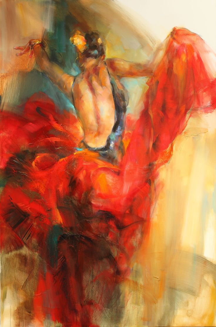 She Dance In Beauty 4 by Anna Razumovskaya