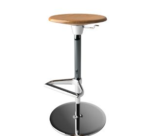 Zeb Stool By Vitra Free 3D Model