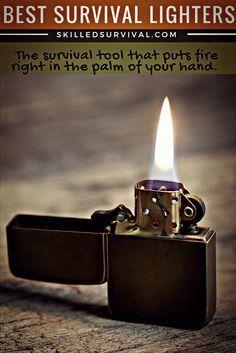 Best Survival Lighters