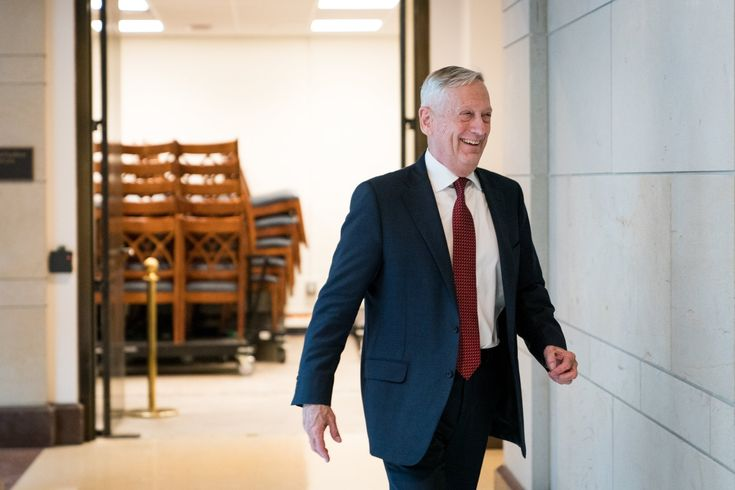 Mattis Wanted Congressional Approval Before Striking Syria. He Was Overruled.