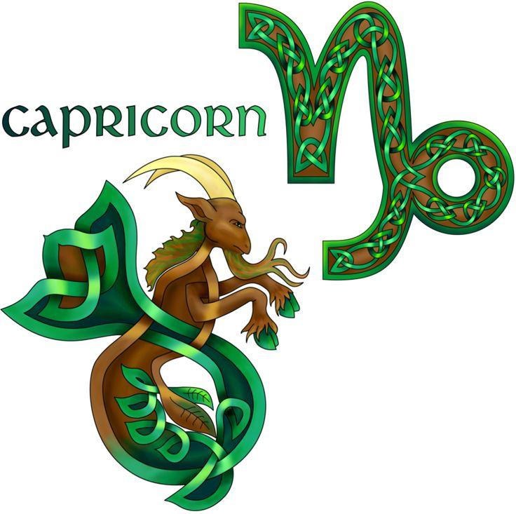 Celtic Knot Capricorn   Capricornio   Pinterest ...