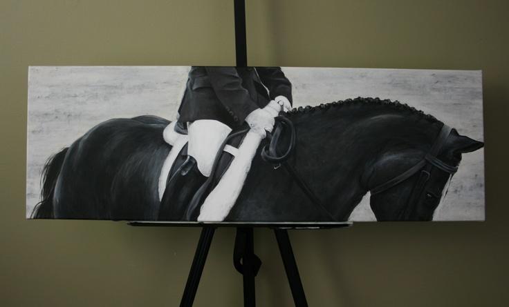 INsync - Acrylic on canvas 18 X 36