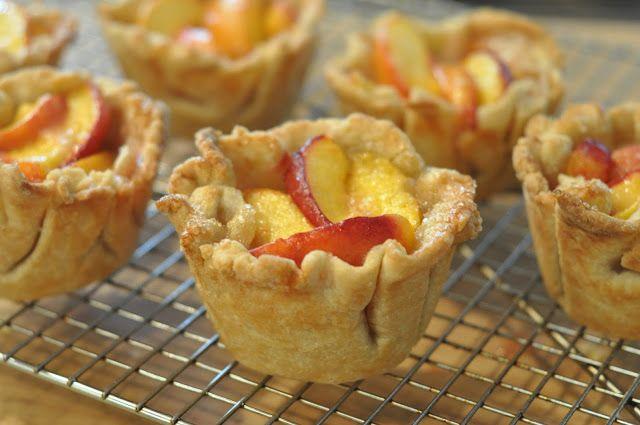 Mennonite Girls Can Cook: Rustic Nectarine Tarts