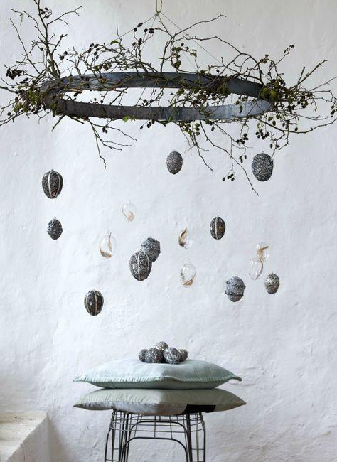 13 Scandinavisch geïnspireerde ideeën voor Pasen: van de puristische paasboom tot …  – Ostern ° DIY Deko Ideen