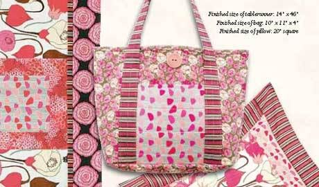 Free Bag Pattern and Tutorial - Giselle Tote Bag