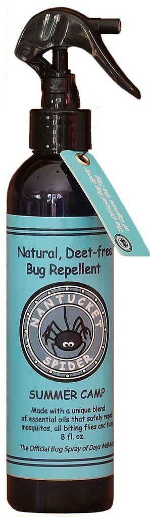 Best safe tick repellents for kids: Nantucket Spider DEET-free