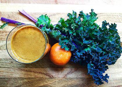 Bright Purple Kale & Sunshine Citrus Juice | Reboot With Joe