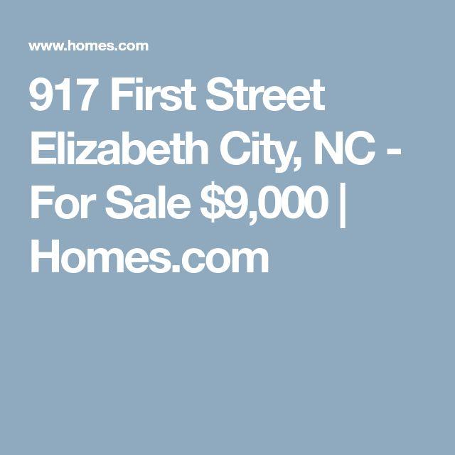 917 First Street Elizabeth City, NC - For Sale $9,000 | Homes.com