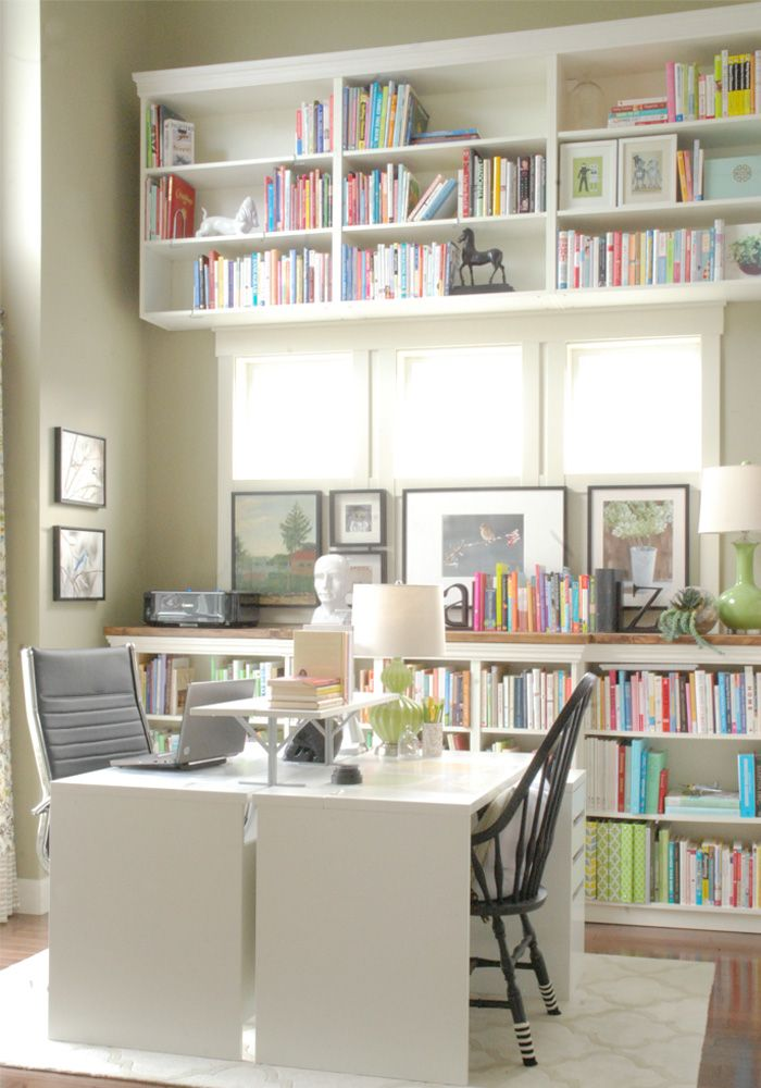 Home Library Room Office: 17 Best Images About Home Office Craft Room On Pinterest