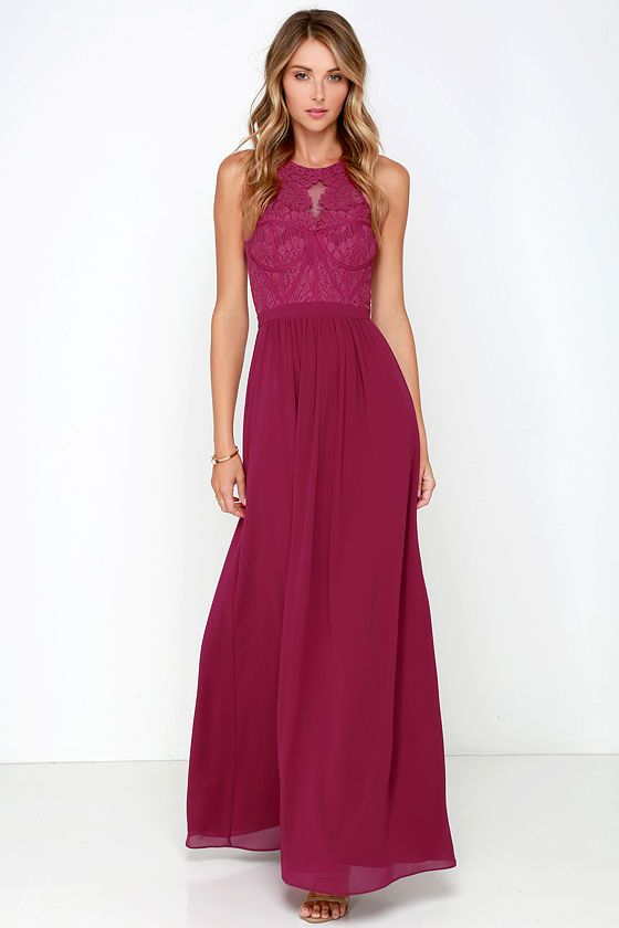 Opulence Bariano Lulus com  hare Dress jordan Pink at   Maxi Lace Berry Optimum retro