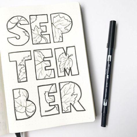 Hello, September! #bulletjournal
