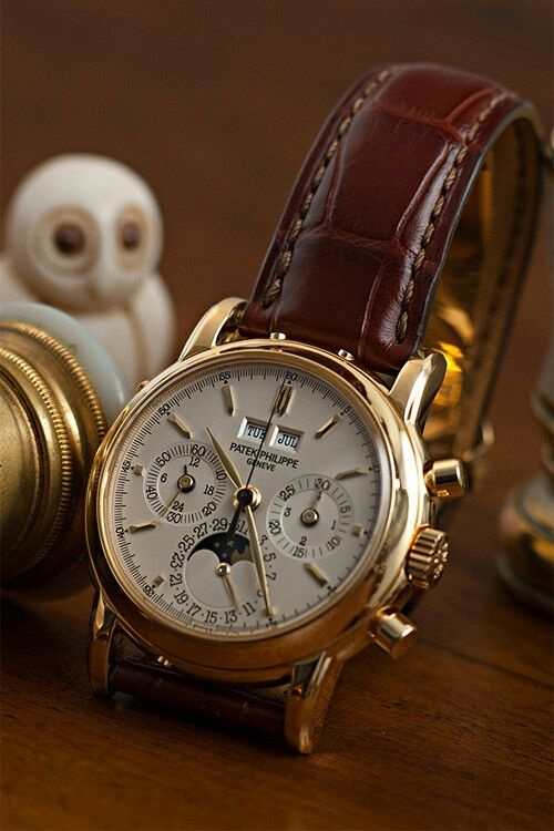 PATEK PHILIPPE | Raddest Men's Fashion Looks On The Internet: http://www.raddestlooks.org