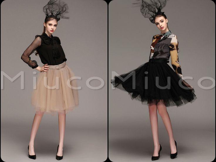 Тяжелая ранней весной 2015 европейских и американских женщин новый пряжа элегантные многослойные юбки балетной пачки дикий платье с поясом - Taobao