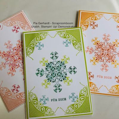 Stampin with Scraproomboom: Completely Decorated - the new free stamp set