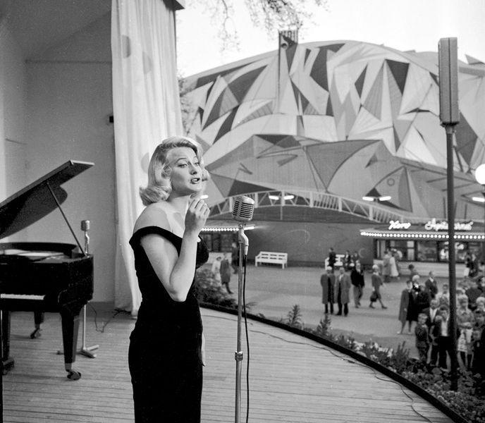 Monica Zetterlund -- Swedish jazz singer and actress