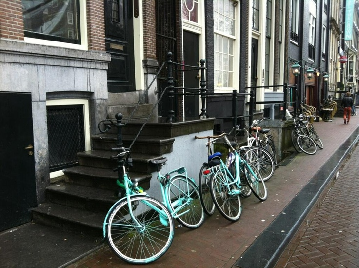 Амстердам всё такой же Амстердам, живой и безумный. укрепилась в идее найти возможность пожить здесь