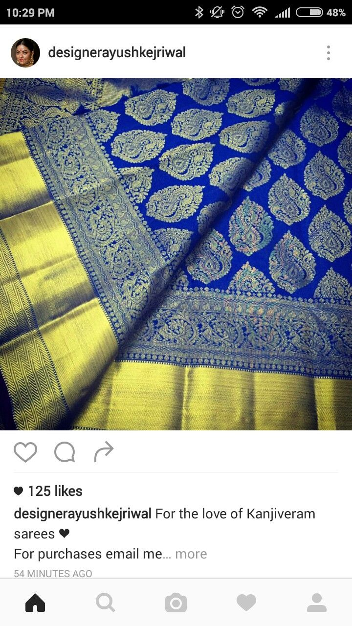 Kanjivaram Silk Saree #Kanchipuram