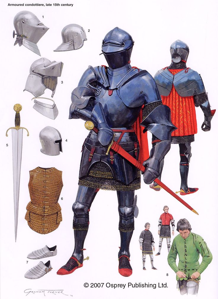 13th Century Armor Spanish armor 16th century
